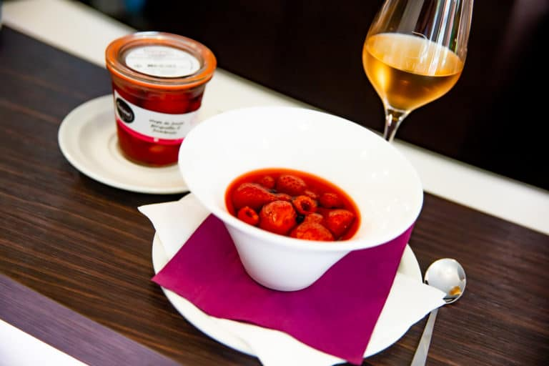 desserts en bocaux hotel du chateau dinan restauration