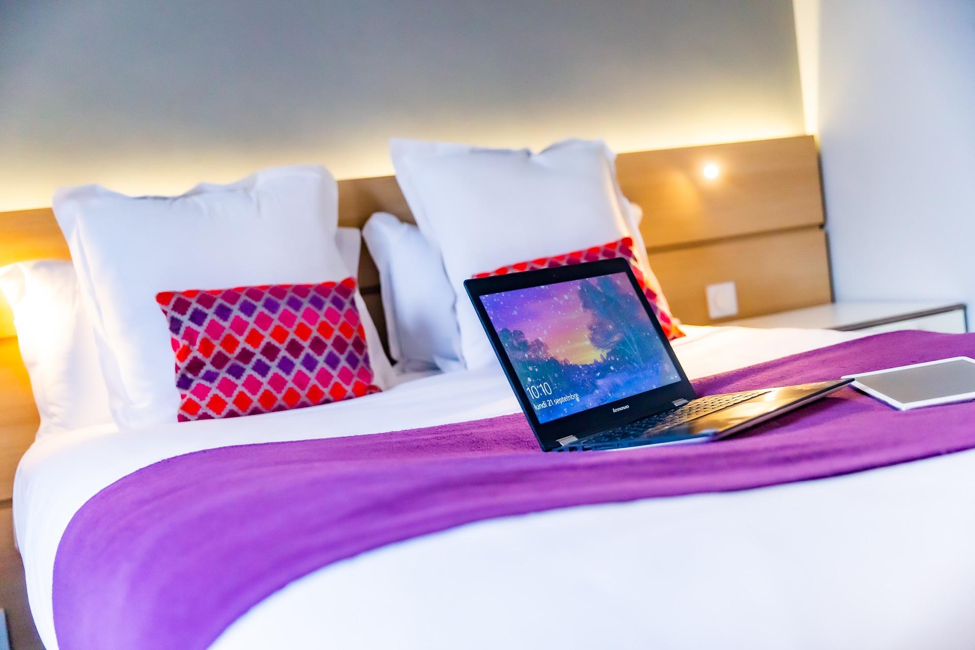 chambre standard idéal professionnel à l'hôtel du chateau
